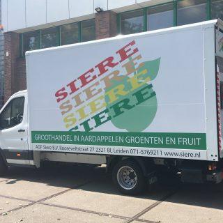 Nieuwe bestelwagen voor Siere