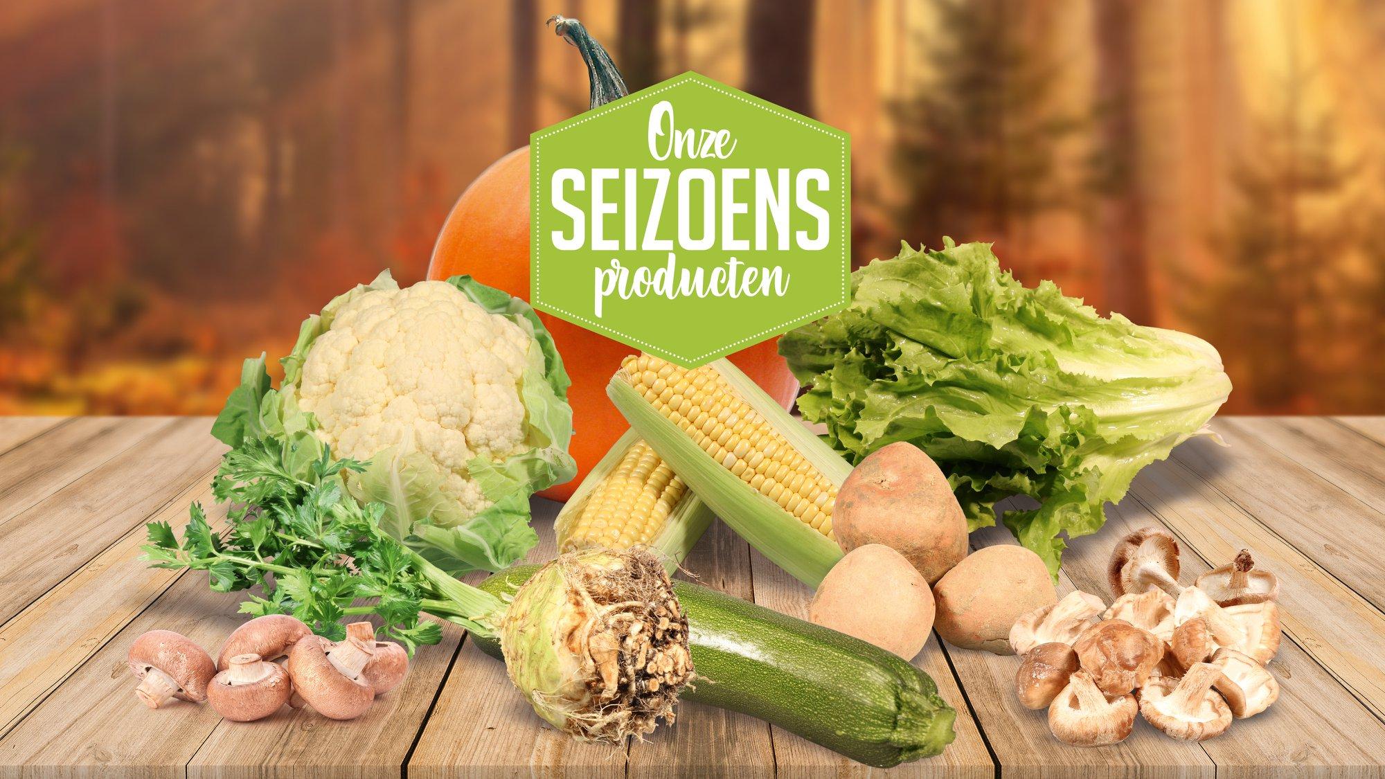 Seizoen groente augustus