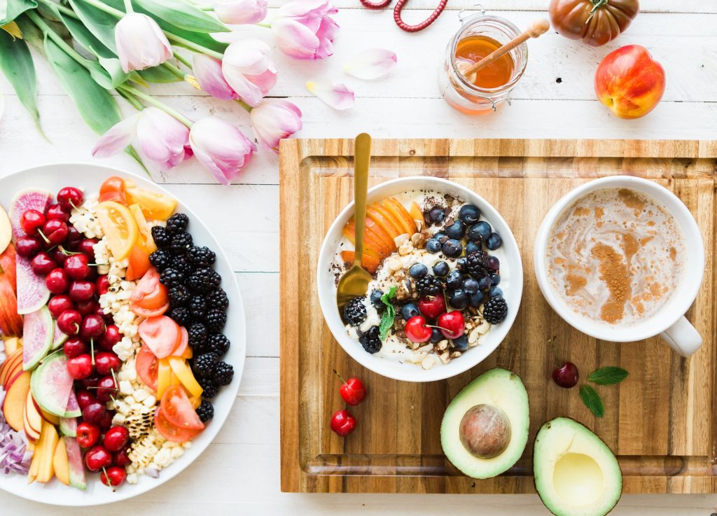 Vruchten ontbijt